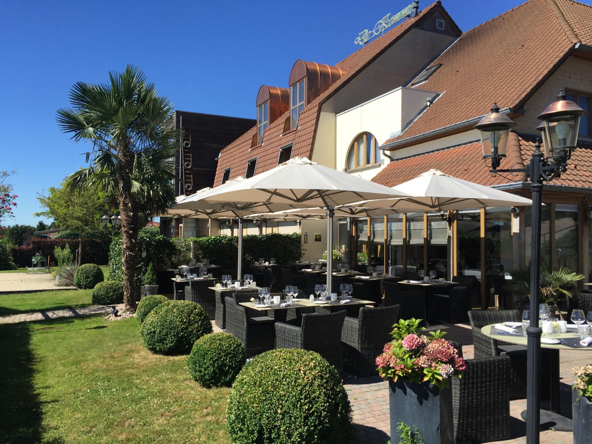 Terrasse - Hotel De Kommel
