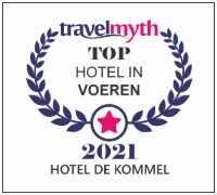top hotel voeren de kommel travelmyth